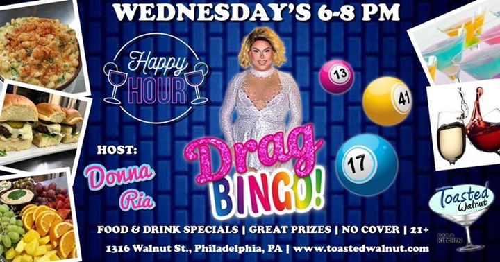 Happy Hour DRAG BINGO in Philadelphie le Wed, December 11, 2019 from 06:00 pm to 08:00 pm (After-Work Gay)