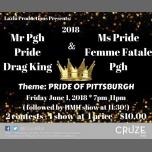 Mr Pgh Pride Drag King & Ms Pride Femme Fatale Pgh 2018 Pageant à Pittsburgh le ven.  1 juin 2018 de 19h00 à 23h00 (Clubbing Gay)