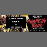 Party Thieves Pitt : Anarchy tour ft. Spock : Bass Technology à Pittsburgh le ven.  4 mai 2018 de 19h00 à 02h00 (Clubbing Gay)