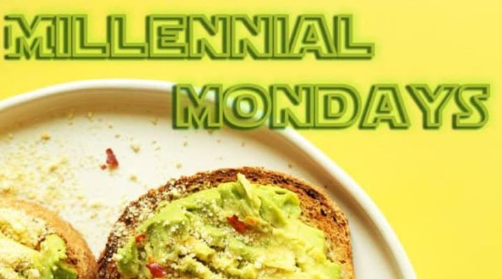 Millennial Mondays a Pittsburgh le lun  2 marzo 2020 18:00-23:59 (Sesso Gay)