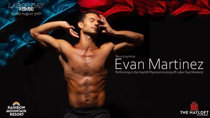 Evan Martinez Live en East Stroudsburg le vie 30 de agosto de 2019 21:00-02:00 (Clubbing Gay)