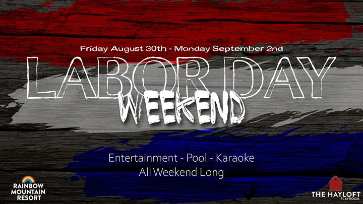 Labor Day Weekend à East Stroudsburg du 30 août au  2 septembre 2019 (Festival Gay)