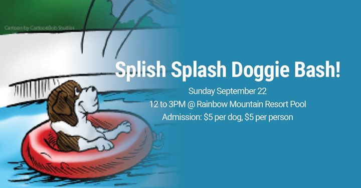 Splish Splash Doggie Bash! à East Stroudsburg le dim. 22 septembre 2019 de 12h00 à 15h00 (After-Work Gay)