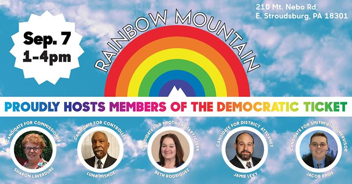 Democrats at Rainbow Mountain! à East Stroudsburg le sam.  7 septembre 2019 de 13h00 à 16h00 (After-Work Gay)