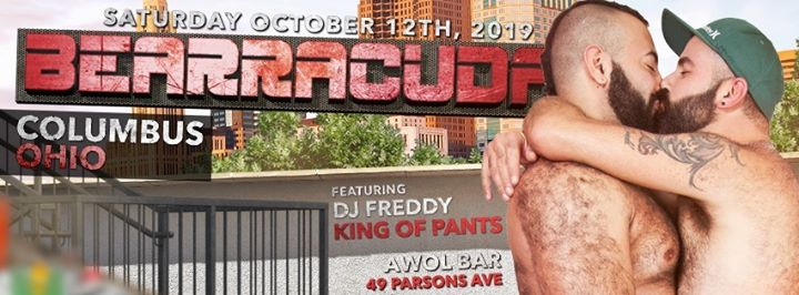 Bearracuda Columbus w/DJ Freddy King of Pants! in Columbus le Sat, October 12, 2019 from 09:00 pm to 02:00 am (Clubbing Gay)
