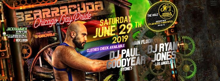 Bearracuda Chicago Gay Pride 2019! à Chicago le sam. 29 juin 2019 de 21h00 à 02h00 (Clubbing Gay, Bear)