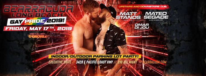 Bearracuda Pride: Long Beach Parking Lot Party! in Los Angeles le Fri, May 17, 2019 from 09:00 pm to 02:00 am (Clubbing Gay, Bear)