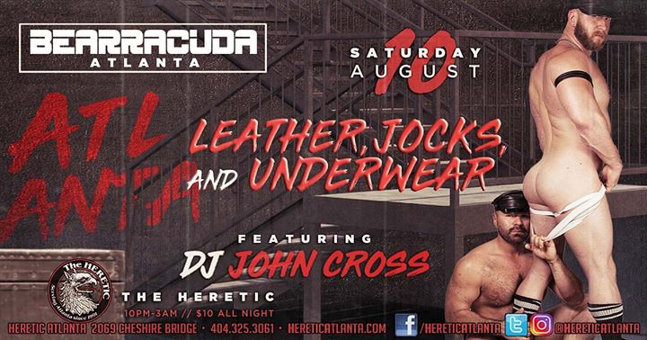 Bearracuda Atlanta - Leather, Jocks & Undies! a Atlanta le sab 10 agosto 2019 22:00-03:00 (Clubbing Gay, Orso)