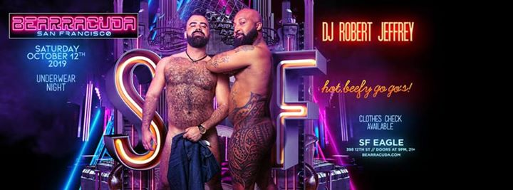 Bearracuda SF Underwear Night! Oct. 12th! a San Francisco le sab 12 ottobre 2019 21:00-02:00 (Clubbing Gay, Orso)