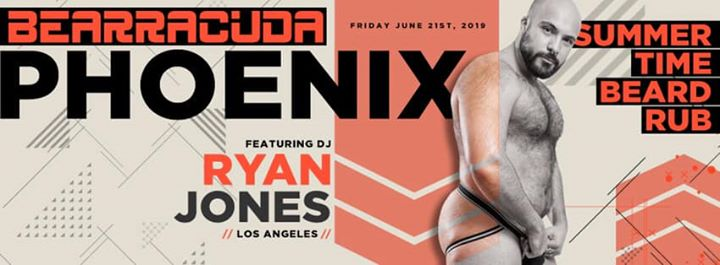 Bearracuda Phoenix Summertime Beard Rub - Friday, June 21st! à Phoenix le ven. 21 juin 2019 de 21h00 à 02h00 (Clubbing Gay, Bear)