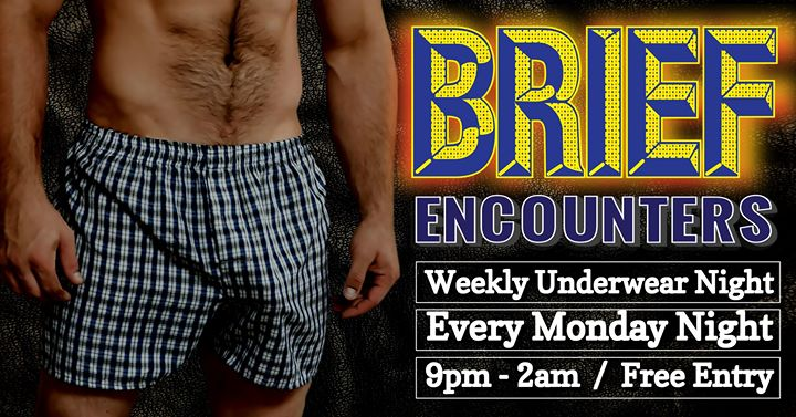BRIEF Encounters in Portland le Mon, November 18, 2019 from 09:00 pm to 02:00 pm (Meetings / Discussions Gay)