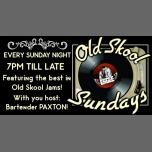 Old Skool Sundays in Portland le Sun, December 24, 2017 from 07:00 pm to 02:00 am (Clubbing Gay)