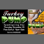 Turkey Pump Thanksgiving Night Party! in Portland le Thu, November 23, 2017 from 09:00 pm to 02:00 am (Clubbing Gay)