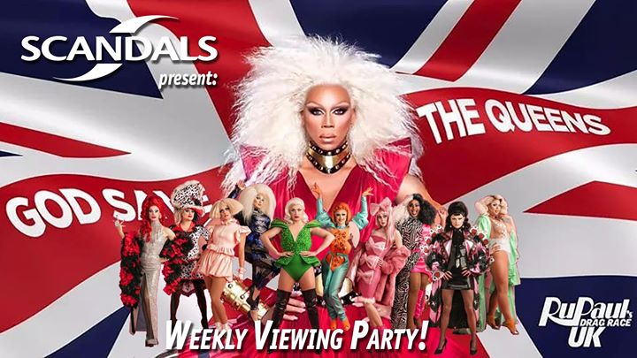 RuPaul's Drag Race UK: Weekly Viewing Party! em Portland le qui, 21 novembro 2019 20:00-22:00 (After-Work Gay)