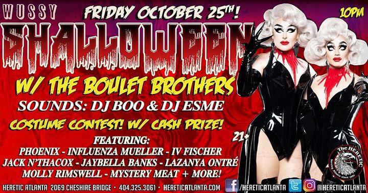 Shalloween w/ The Boulet Brothers from Dragula en Atlanta le vie 25 de octubre de 2019 21:00-02:00 (Clubbing Gay, Oso)