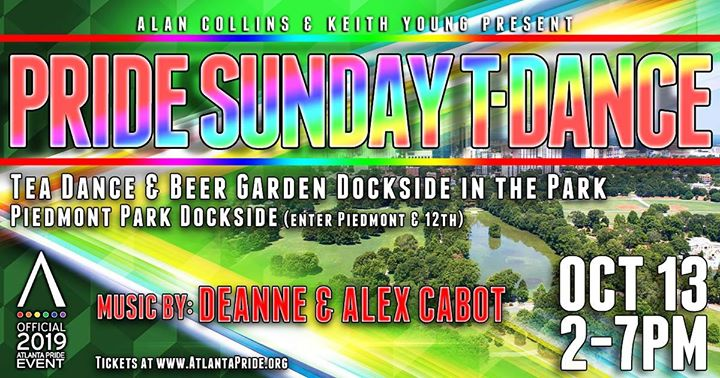 ATL Pride Sunday Tea Dance in the Park in Atlanta le Sun, October 13, 2019 from 02:00 pm to 07:00 pm (Clubbing Gay, Bear)