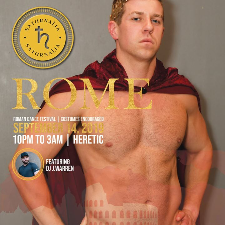 The Return of ROME! en Atlanta le sáb 14 de septiembre de 2019 22:00-03:00 (Clubbing Gay, Oso)