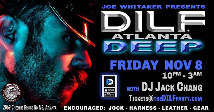"DILF Atlanta ""Deep"" Party by Joe Whitaker Presents en Atlanta le vie  8 de noviembre de 2019 22:00-03:00 (Clubbing Gay, Oso)"