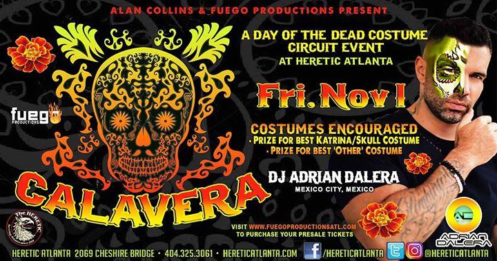 Calavera: Day of the Dead Circuit Costume Party en Atlanta le vie  1 de noviembre de 2019 22:00-03:00 (Clubbing Gay, Oso)
