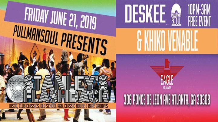 Stanley's Flashback en Atlanta le vie 21 de junio de 2019 22:00-03:00 (Clubbing Gay)