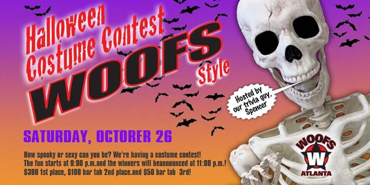 Halloween Costume Contest in Atlanta le Sat, October 26, 2019 from 09:00 pm to 12:00 am (After-Work Gay, Bear)