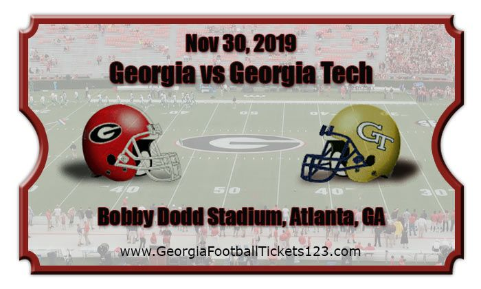 Georgia vs GA Tech in Atlanta le Sat, November 30, 2019 from 12:00 pm to 03:00 pm (After-Work Gay, Bear)