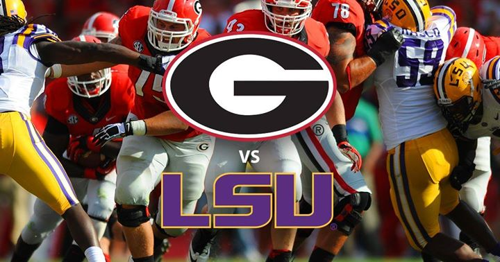 SEC Championship Game GA v/s LSU in Atlanta le Sat, December  7, 2019 from 04:00 pm to 07:00 pm (After-Work Gay, Bear)