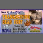 Thanksgiving Bear Fest à Augusta du 23 au 26 novembre 2017 (Festival Gay, Bear)