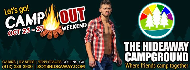 Camp OUT Weekend in Collins from 25 til October 27, 2019 (Festival Gay, Bear)