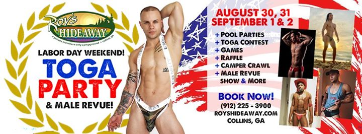 Labor Day Weekend en Collins del 30 de agosto al  2 de septiembre de 2019 (Festival Gay, Oso)
