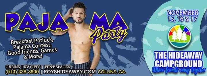 Pajama Party in Collins von 15 bis 17. November 2019 (Clubbing Gay, Bear)