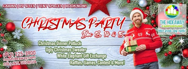 Christmas Party in Collins from 13 til December 15, 2019 (Festival Gay, Bear)