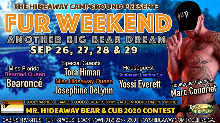 FUR Weekend in Collins from 26 til September 29, 2019 (Festival Gay, Bear)