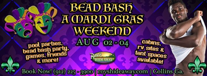 Bead Bash a Mardi Gras Weekend in Collins from  2 til August  4, 2019 (Festival Gay, Bear)
