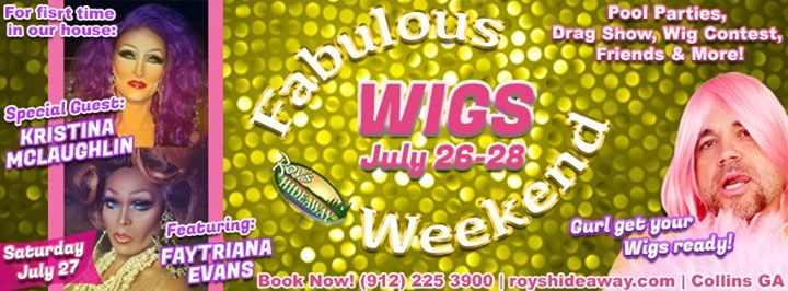 Fabulous wig party weekend en Collins del 26 al 28 de julio de 2019 (Festival Gay, Oso)