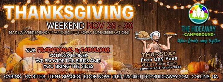 Fabulous Thanksgiving in Collins from November 28 til December  1, 2019 (Clubbing Gay, Bear)
