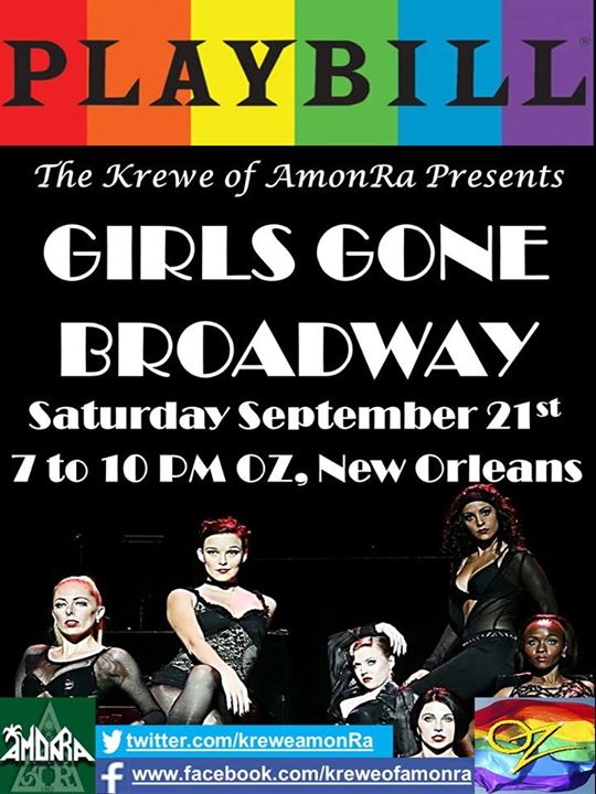 Girls Gone Broadway en New Orleans le sáb 21 de septiembre de 2019 19:00-22:00 (After-Work Gay)
