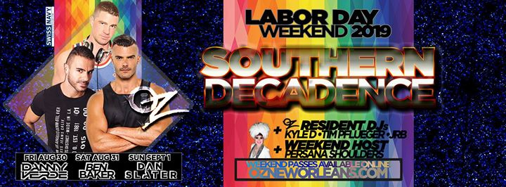 Oz Southern Decadence 2019 in New Orleans le Wed, August 28, 2019 from 05:00 pm to 12:00 am (After-Work Gay)