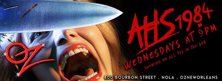 AHS 1984 Viewing Party in New Orleans le Wed, November 13, 2019 from 09:00 pm to 10:00 pm (After-Work Gay)