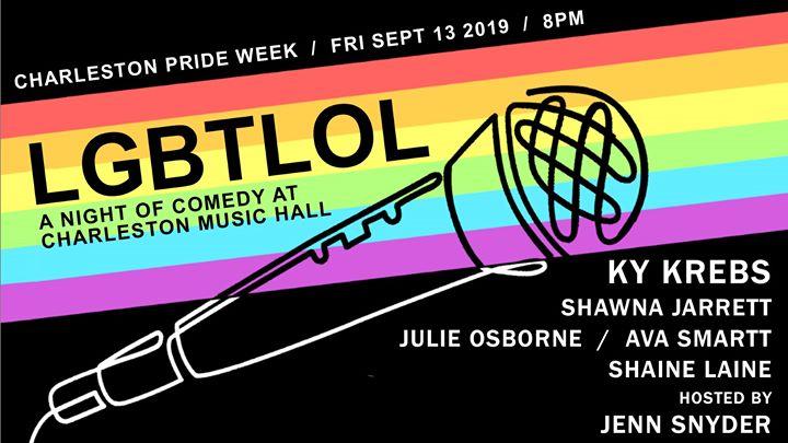 LGBTLOL: A Night of Comedy à Charleston le ven. 13 septembre 2019 de 20h00 à 22h00 (Spectacle Gay, Lesbienne, Trans, Bi)