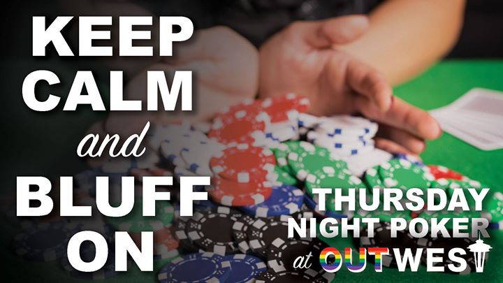 OutWest Poker Night in Seattle le Thu, December 19, 2019 from 06:30 pm to 09:00 pm (After-Work Gay)
