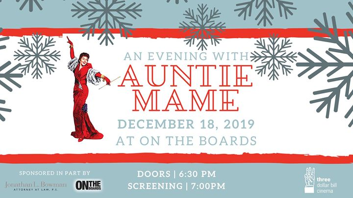 An Evening with Auntie Mame in Seattle le Wed, December 18, 2019 from 07:00 pm to 10:00 pm (Cinema Gay, Lesbian, Trans, Bi)