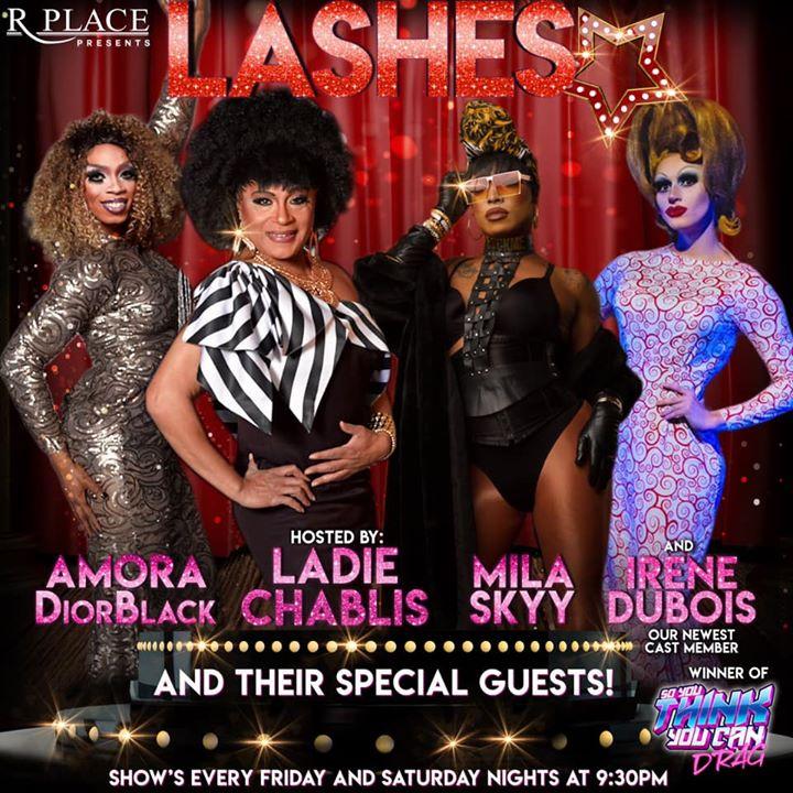 Lashes-A Drag Experience à Seattle le sam.  7 décembre 2019 à 21h30 (Clubbing Gay)