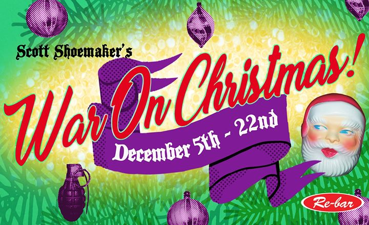 Scott Shoemaker's War On Christmas em Seattle le qui,  5 dezembro 2019 19:30-21:30 (After-Work Gay Friendly)