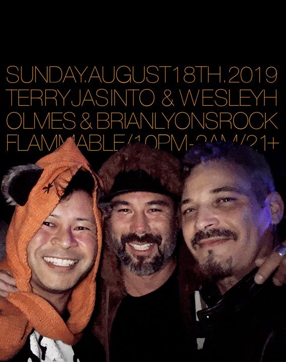 Jasinto&Holmes&LyonsROCKFlammable! in Seattle le Sun, August 18, 2019 from 10:00 pm to 02:00 am (Clubbing Gay Friendly)