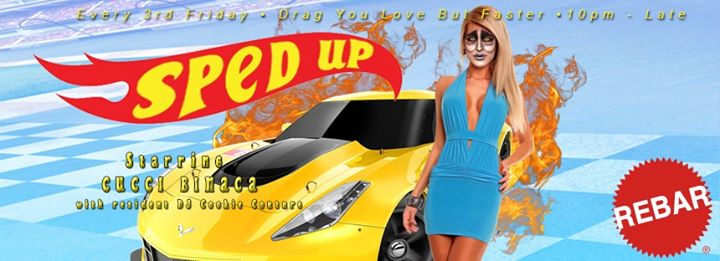 Sped Up: Drag you love but faster! in Seattle le Fri, November 15, 2019 from 10:00 pm to 02:30 am (Clubbing Gay Friendly)