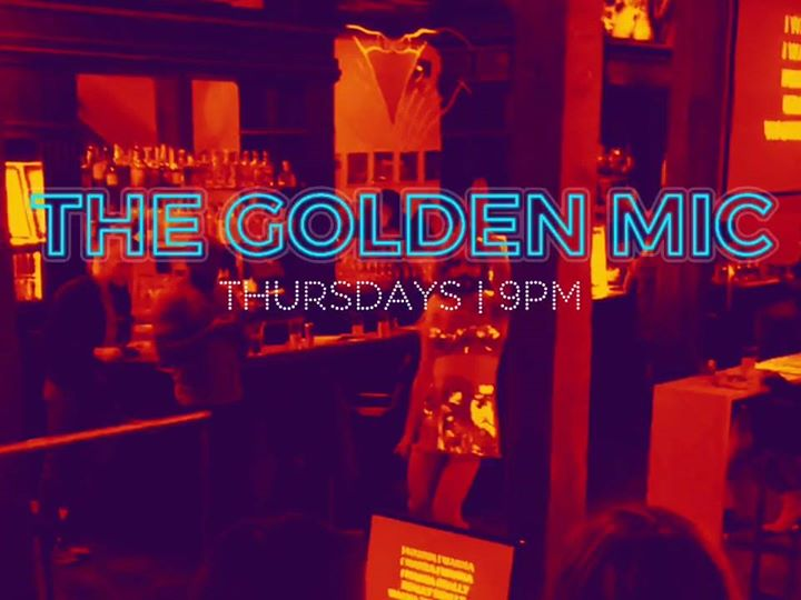 The Golden Mic à Seattle le jeu.  9 avril 2020 de 21h00 à 23h30 (After-Work Gay)
