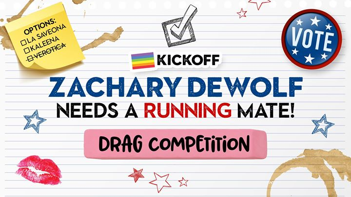 Pride Kickoff: Zachary Dewolf Needs a Running Mate! em Seattle le ter, 25 junho 2019 19:00-22:00 (After-Work Gay)