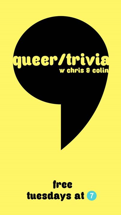 Queer/trivia a Seattle le mar  3 dicembre 2019 19:00-21:00 (After-work Gay)