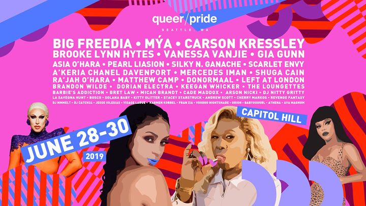 Queer/Pride Festival 2019 in Seattle from 28 til June 30, 2019 (After-Work Gay)